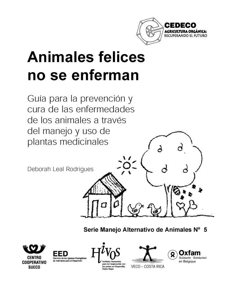 Animales felices no se enferman – Deborah Leal Rodríguez