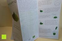 Info Zettel: Bio Matcha Tee von Teelirium | Silk Basic | Hochwertiges Matcha Tee Pulver aus Japan in Bio Qualität | 30g Aromaschutzdose | Ideal für Starter | Vegan | Vakuumverpackt | Beste Qualität von Teelirium (Matcha seit 2004)