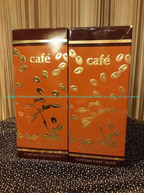 CAFE COFINLUXE REFORMULATED VERSION VS. VINTAGE VERSION NATALIE BEAUTE