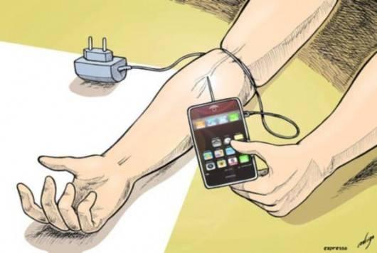 adicciones por los celulares, crea una muy fuerte