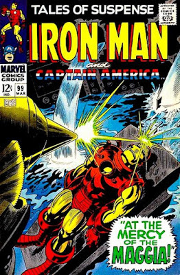 Tales of Suspense #99, Iron Man vs the Maggia