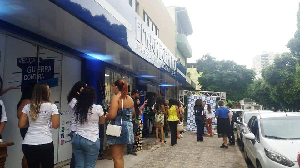 Inauguração da Emagrecentro em Governador Valadares