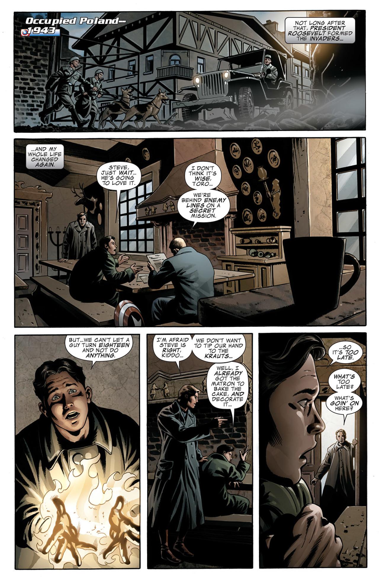 Read online Captain America (2005) comic -  Issue #50 - 10