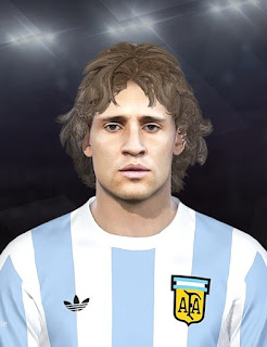 PES 2019 Faces Hernan Crespo by DNA+I Facemaker