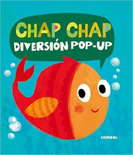 mejores cuentos para niños de 2 a 3 años de edad, chap chap diversión pop-up comble