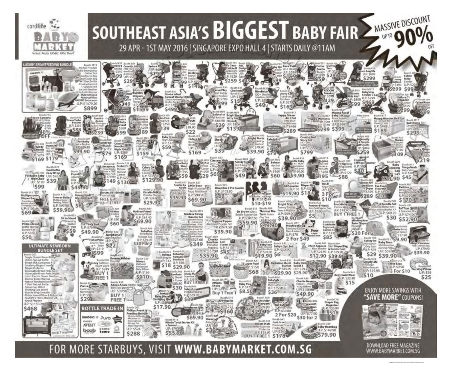 18a5d78e2f950 Baby Market Baby Fair 29 April - 01 May 2016 ~ Supermarket Promotions