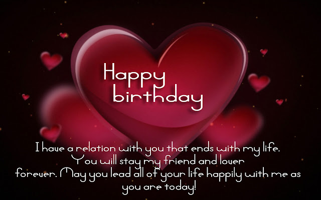 Happy Birthday, Heart Love Happy birthday quotes for