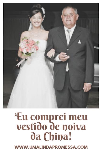 Vale a pena comprar vestido de noiva da china
