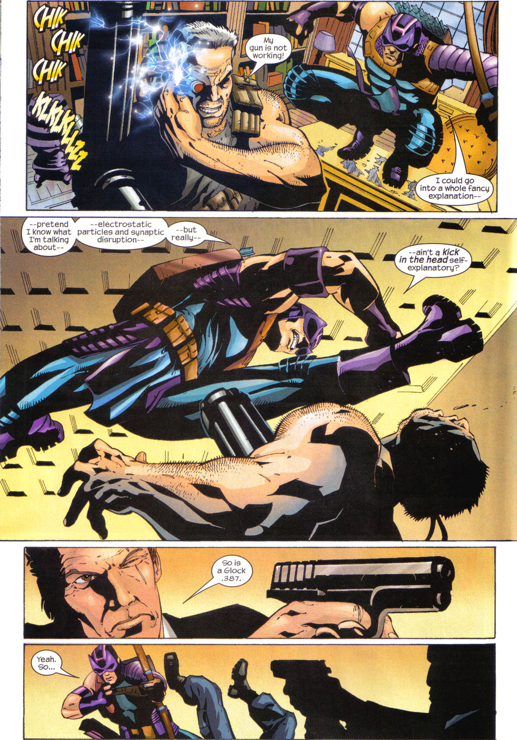 Hawkeye (2003) Issue #7 #7 - English 16