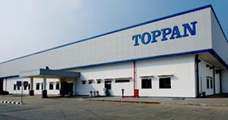 Informasi Lowongan Kerja untuk Sma/Smk PT Toppan Printing Indonesia GIIC Cikarang