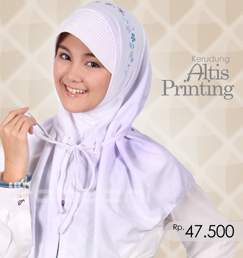 Jilbab Rabbani Warna Putih
