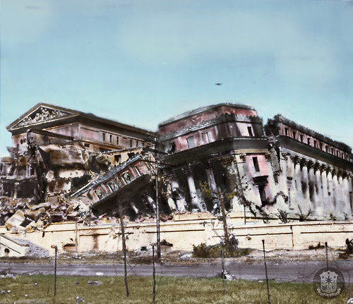 Philippine National Museum damage during the Second World War