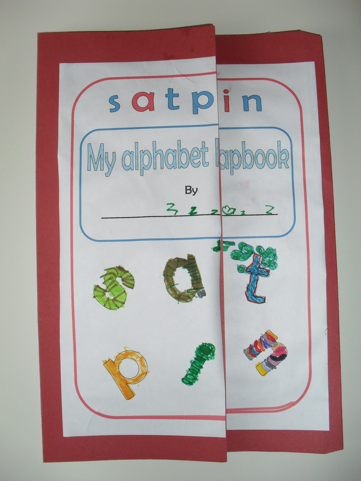 A Muslim Homeschool Jolly Phonics Lapbook With A