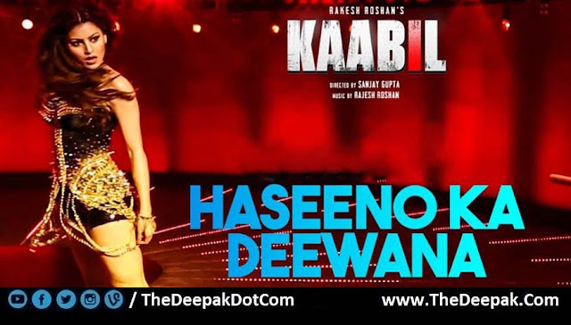 Haseeno Ka Deewana Hindi Guitar Song Kaabil featuring Urvashi Rautela