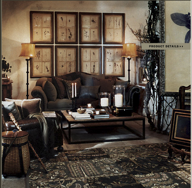Color Outside The Lines Small Living Room Decorating Ideas: Color Outside The Lines: Ralph Lauren Home Collections