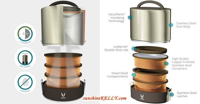 5 Reasons Why I like VAYA Tyffyn Vacuum Insulated Lunchbox