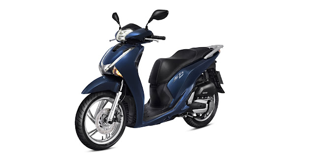scooter-honda-sh150 azul marinho