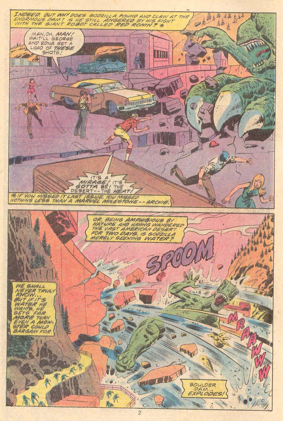 Godzilla (1977) Issue #9 #9 - English 3