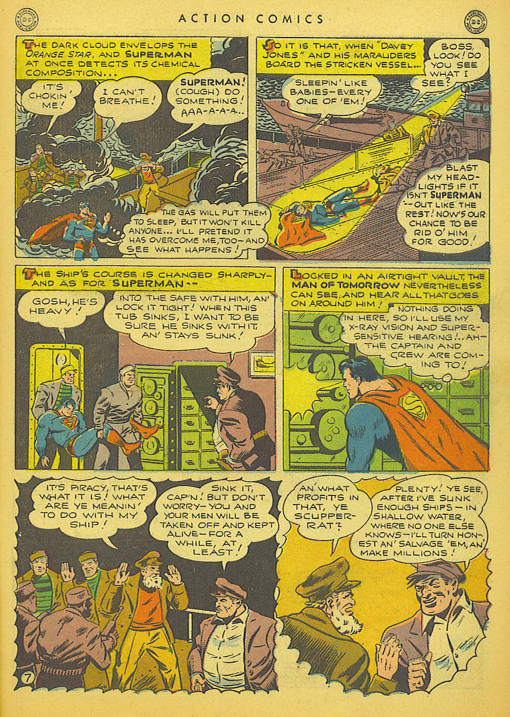 Read online Action Comics (1938) comic -  Issue #91 - 9