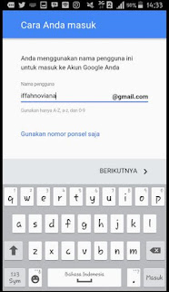 masuk akun google