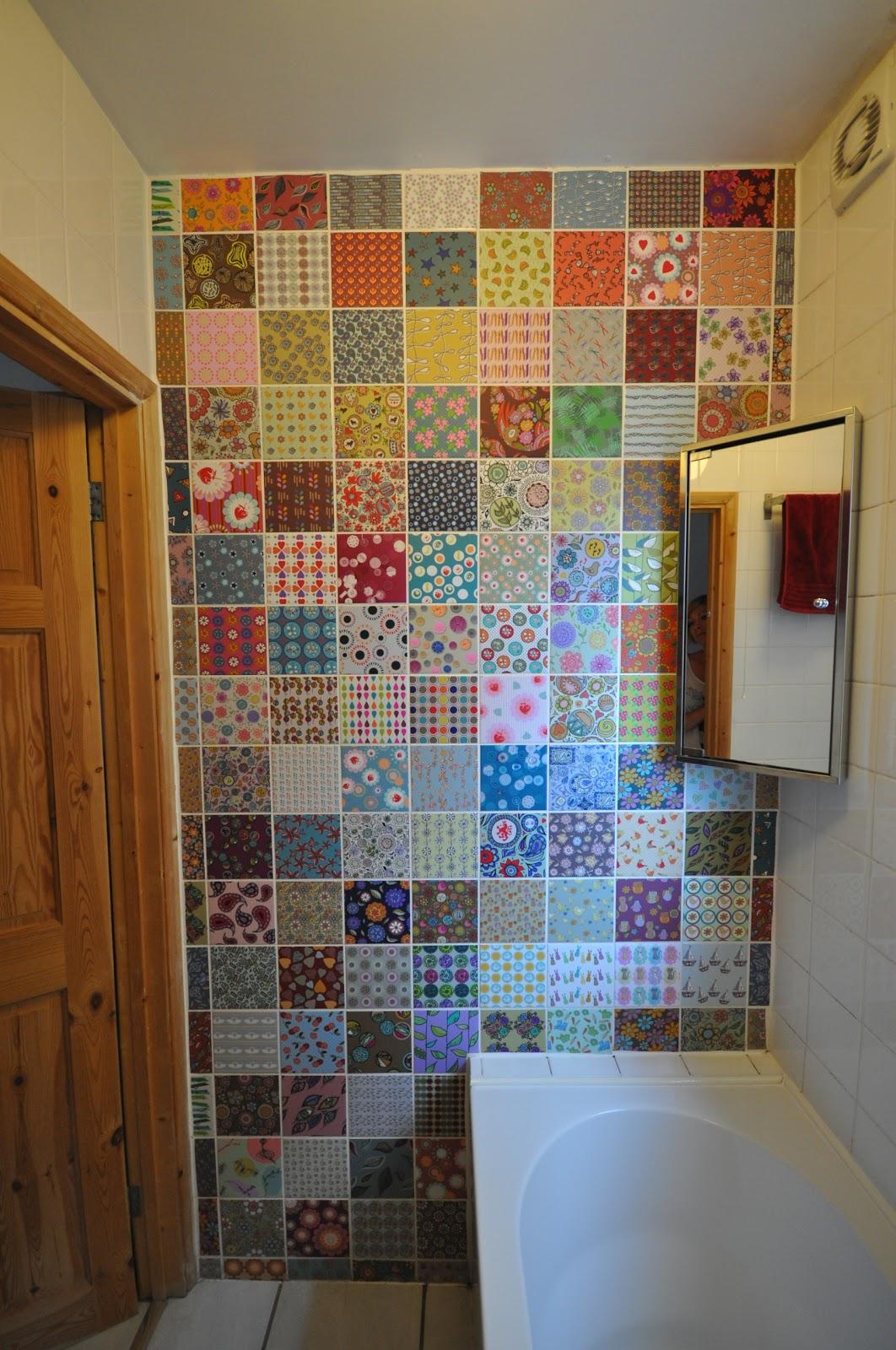 Georgia Coote: Adam's Tile Wall