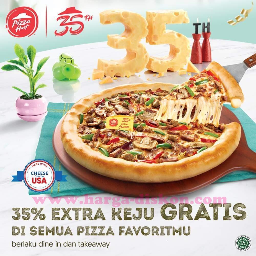 Promo Pizza Hut Terbaru Spesial Ulang Tahun ke-35