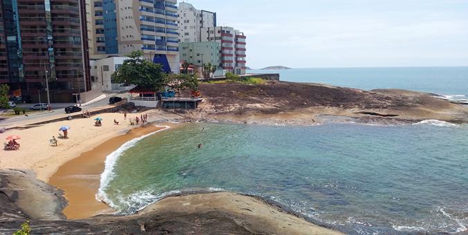 Praia das Virtudes - Guarapari