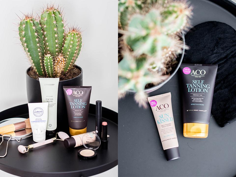 self-tan-product-recommendation-itseruskettava-tuotevinkki-aco-self-tand-lotion-sun-kissed-face-cream