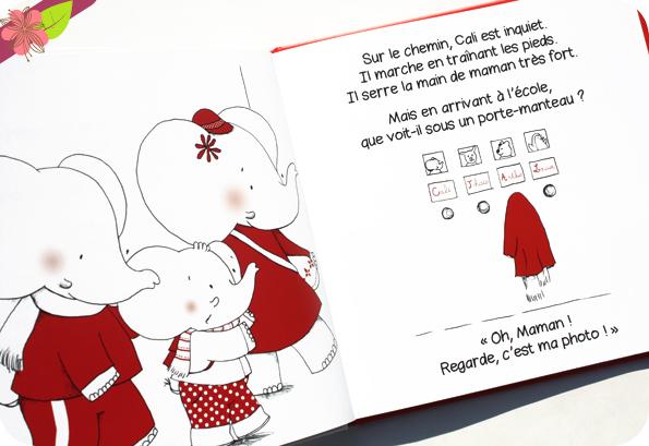 La Rentrée de Cali de Nancy Guilbert et Cécile Vangout - éditions Éveil et Découvertes