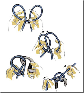 Image result for Double clove hitch knot