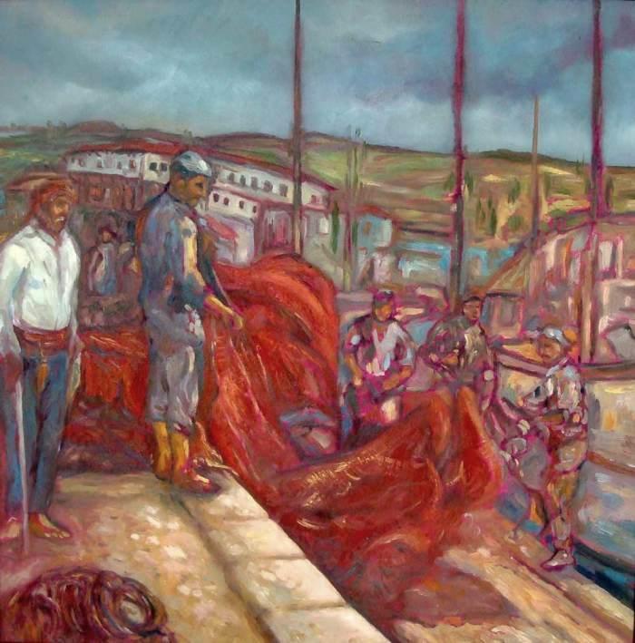 Болгарский художник. Miroslav Gankov