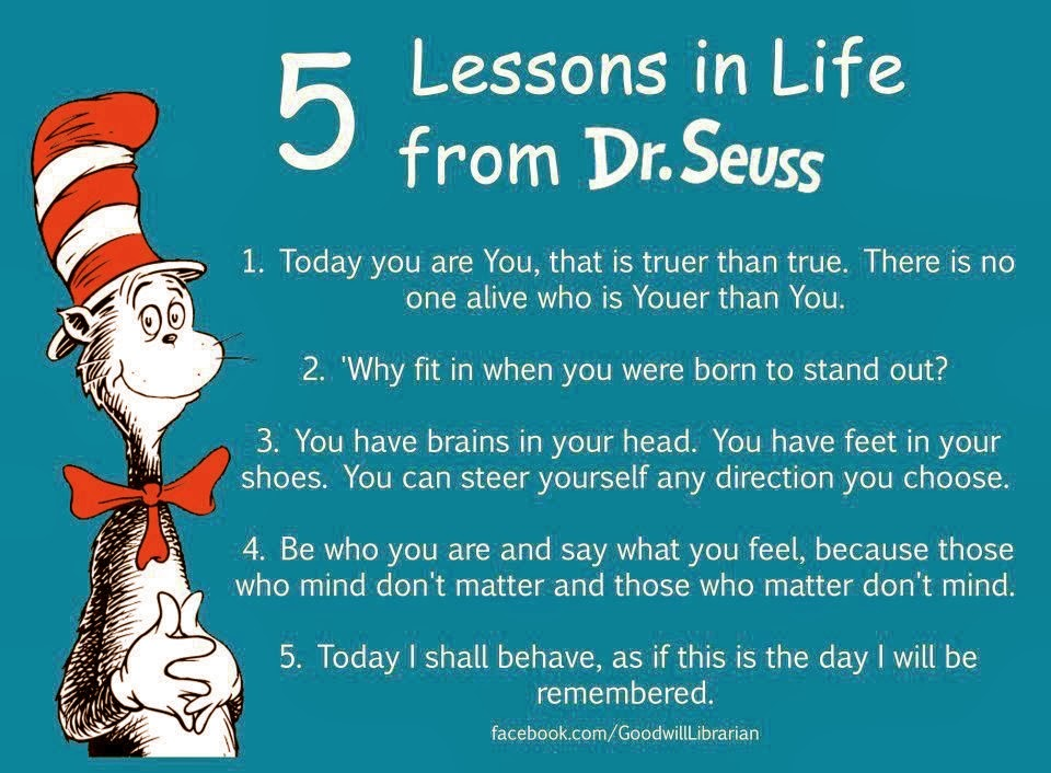 Stories By Mina Khan: Happy Birthday Dr. Seuss! Thanks For