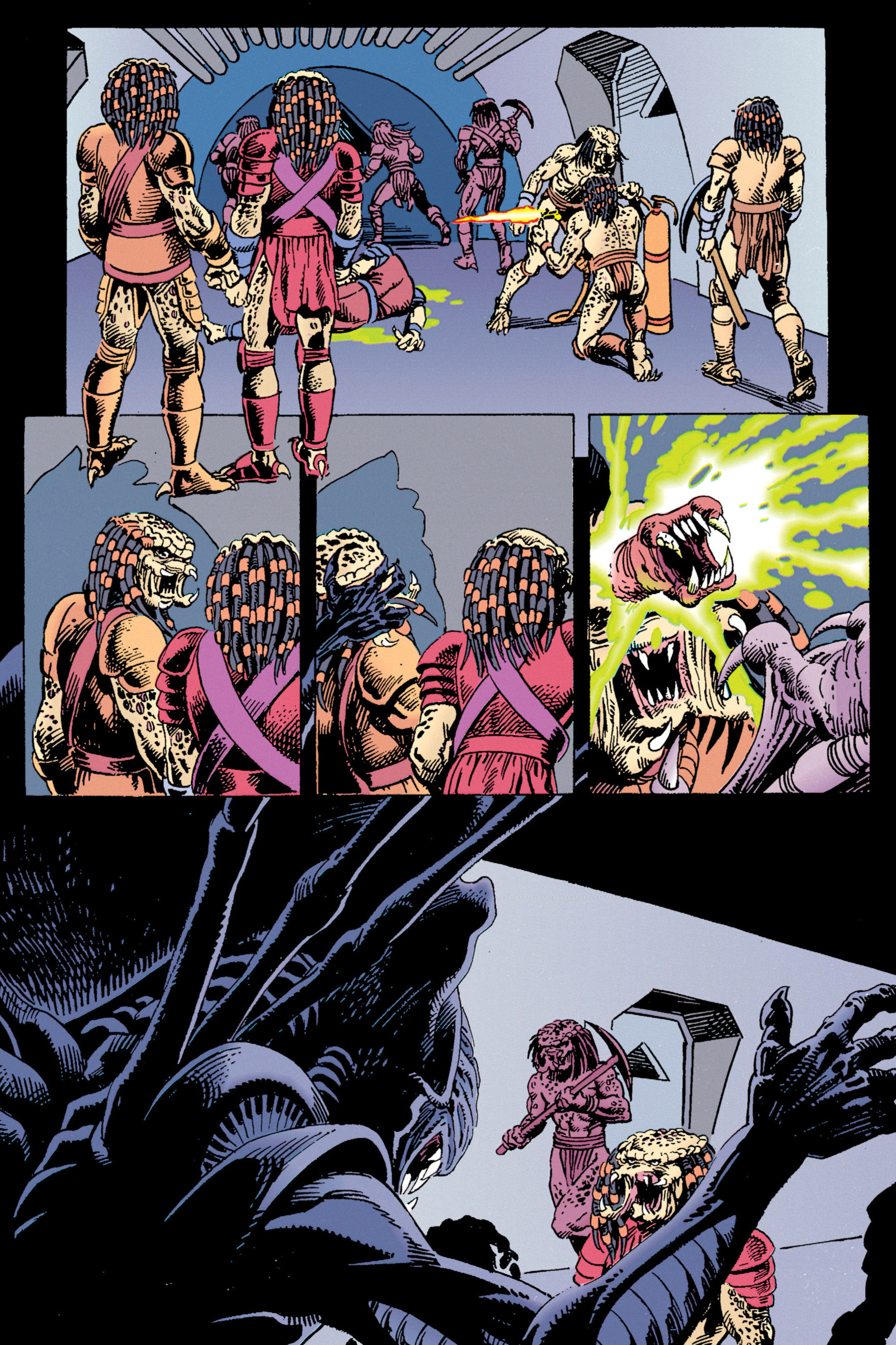 Read online Aliens vs. Predator Omnibus comic -  Issue # _TPB 1 Part 3 - 92