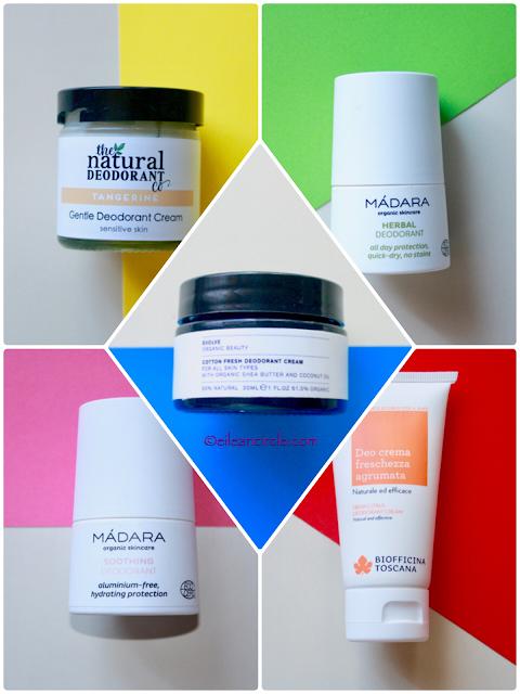 desodorantes naturales, cosmética natural, natural deodorant, pieles sensibles