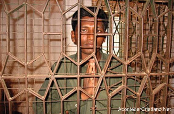 Hombre convertido al cristiano encarcelado en Vietnam