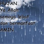 gambar dp Bbm doa saat hujan