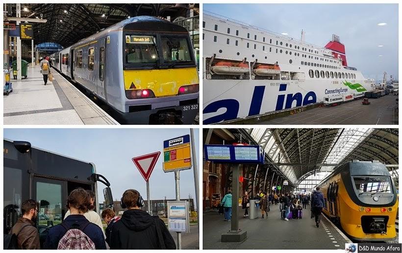 Diário de Bordo - 2 dias em Amsterdam -