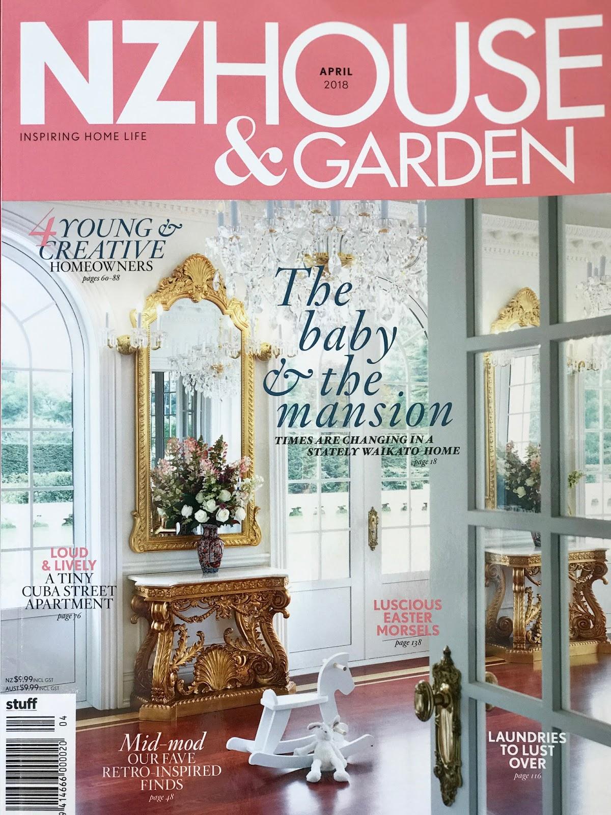 Willowbrook Park: NZ House and Garden Cover