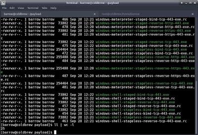 menciptaan Payload dengan mudah menggunakan MSFPC (MSFvenom Payload Creator)