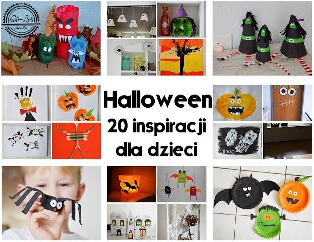 Halloween: 20 inspiracji dla dzieci