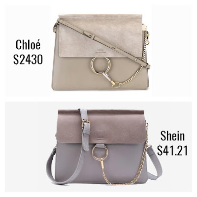 Designer Dupes Look For Less Chloe Faye Bag