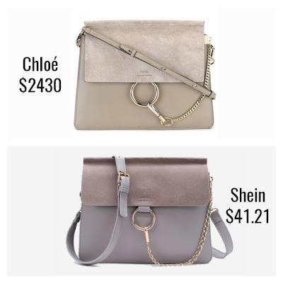 Designer Dupes Look For Less Chloe Faye Bag
