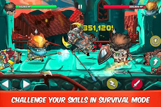 Game Tiny Gladiators MOD APK 2.0.1 ( Diamond Gold Souls) Terbaru