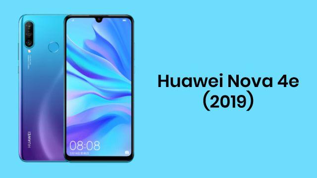 Huawei Nova 4e (2019)