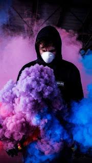 Smoke Mobile HD Wallpaper