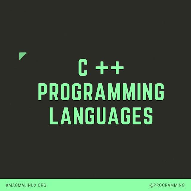 C ++ programming languages