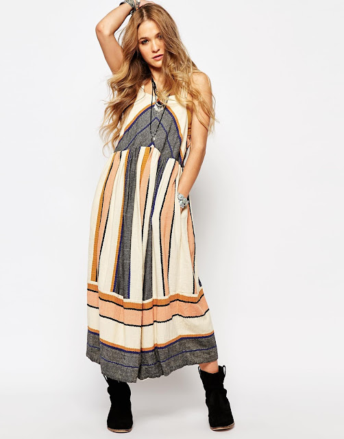 free people sun dress, free people colour dress,