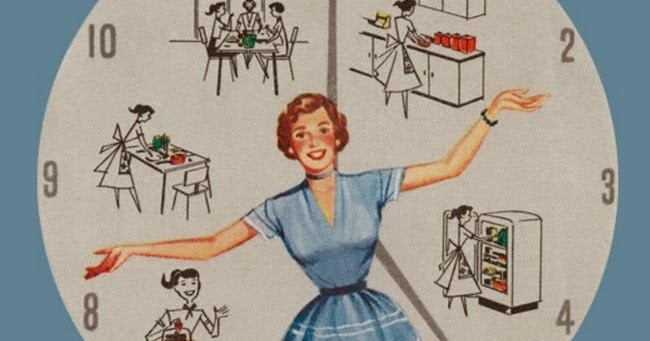 Homekeeping Schedules for the Modern Housewife VaVoom Vintage