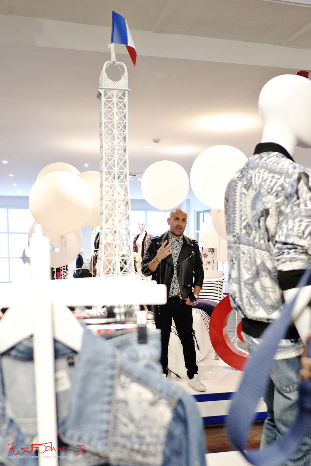 Mr Anthony Pecora General Manager of Design Innovation for Target speaking at the media launch event of #JPGforTarget