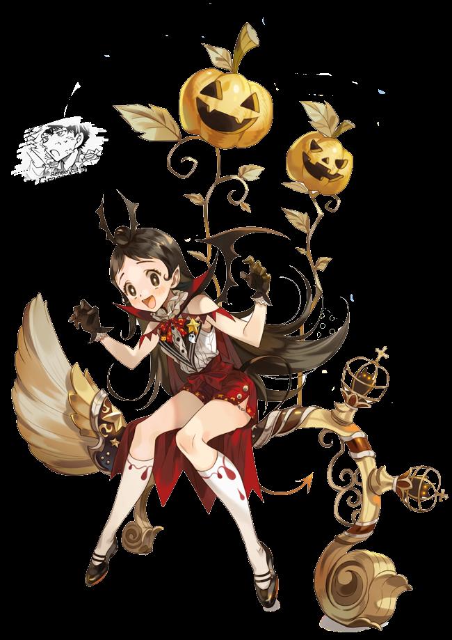 RENDER VAMPIRE GIRL